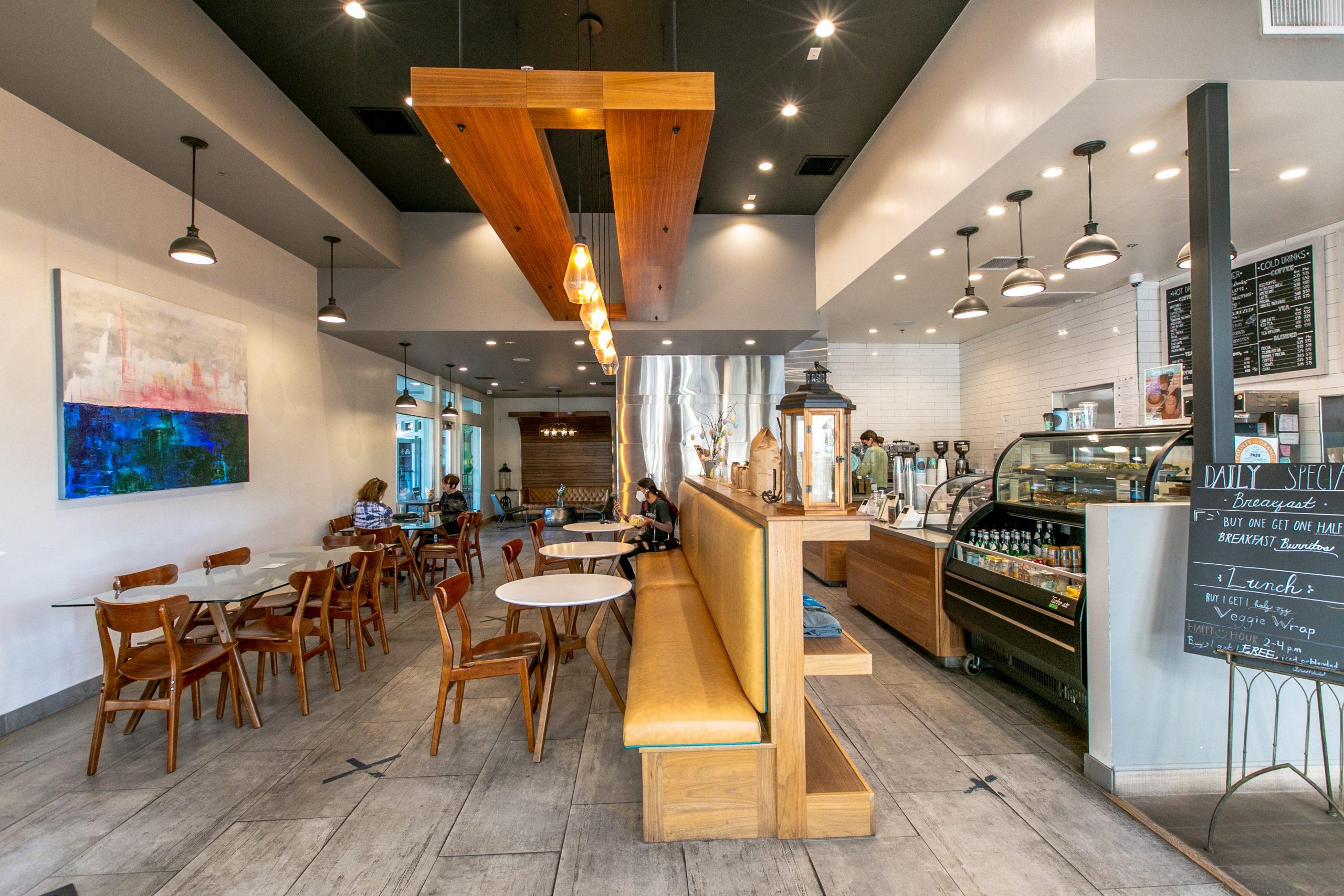 Lost Bean Restaurant Architecture and Interior Design
